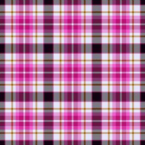 Fantasy tartan, pink