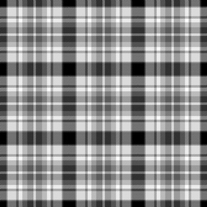 Grayscale tartan