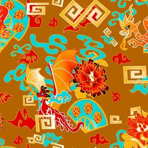 dragon dance2 on amber
