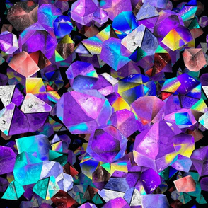 Crystals (Colorful Quartz)