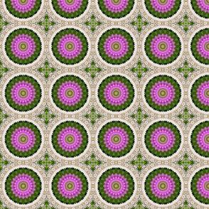 Lacy Floral Pinwheels 2343