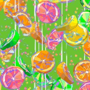 Pop Art Citrus Fizz