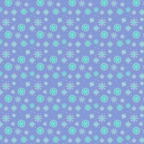 Snowflakes  2 two tone