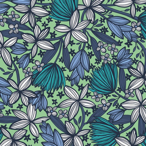 Tropica (Mint and Teal)