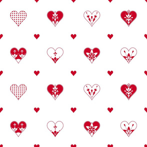 Valentines Day Hearts LG2