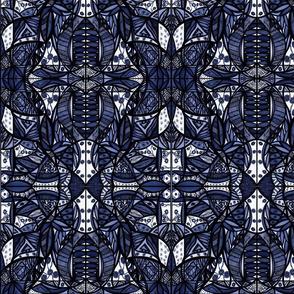 40_Navy/Blue_Small_Mirror