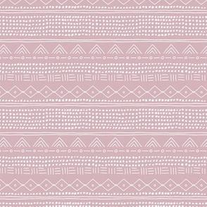Minimal mudcloth bohemian mayan abstract indian summer love aztec design dusty pink SMALL