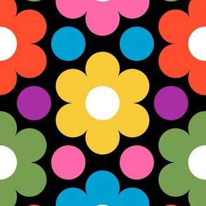 09474132 © circle flowers : trendy1970s