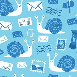 Snail Mail Blue