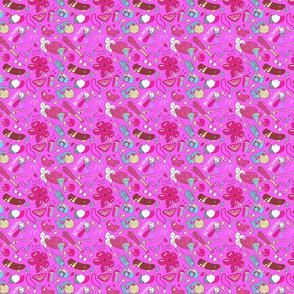 Medium Stranger Things in Pink