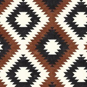 aztec neutrals - inkwell & brandywine - home decor - LAD19