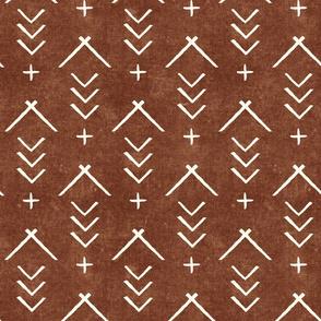 mudcloth arrows on brandywine - bohemian buffalo collection - LAD19