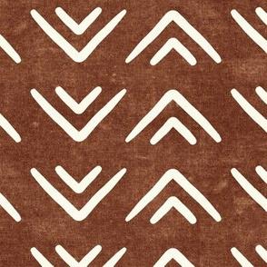 mud cloth triangles - boho - farmhouse - brandywine - LAD19