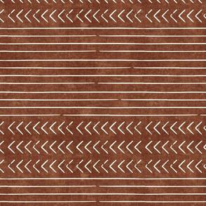 arrow stripes - brandywine - mud cloth modern trendy farmhouse - LAD19