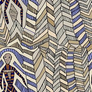 Aborigine Man - Large scale