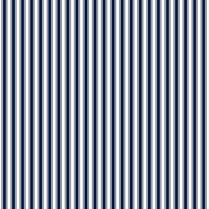 ticking stripes 071C46 navy blue