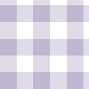 "1.5"" Light Purple Gingham: Medium Lavender Gingham Check, Buffalo Plaid"