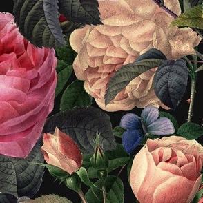 Deep Dark Floral