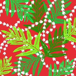 Christmas Hawaii Lei