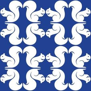 Squirrels Blue