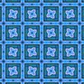 graphic flower grid