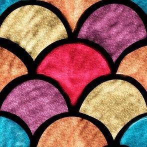 70s Jewel Glitter Sunrise Supersize