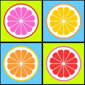 09485021 © citrus cut R4 : neon pop