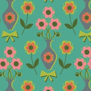 Vintage 70s floral
