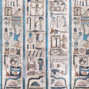 Egyptian Hieroglyphics Vertical