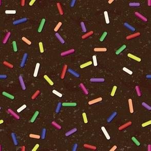 Sweet Sprinkles on Chocolate Ice Cream by ArtfulFreddy