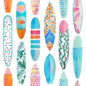 Surfboards small scale