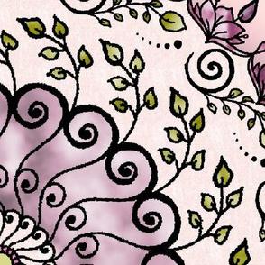 Mandala Garden violet