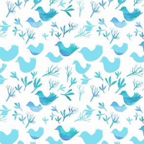 bluebird fabric