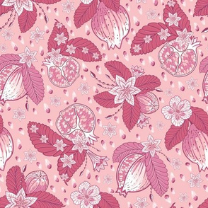 Pomegranate Chintz Pink