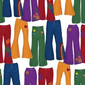 Jewel Tone Jeans