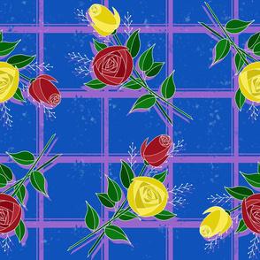 Roses in Jewel Tones