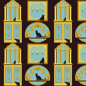 Cats are DECO in ART