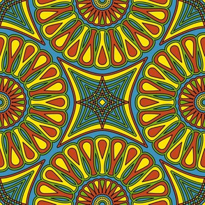 Sunburst Circles
