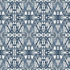9_Navy Blue_Small_Mirror