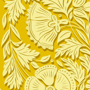 Spoonflower Power Citrine