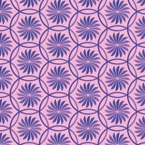 Geometric Circle Flowers