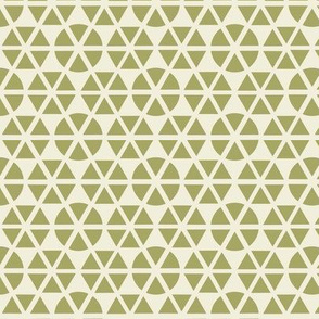 geo-flower green