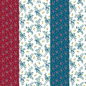 70's Prairie Jewel Tones_Stripes