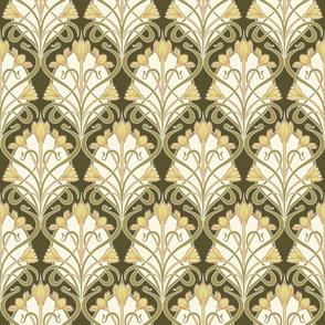 Crocus Art Nouveau_Costa del Sol-Yellow_50Size