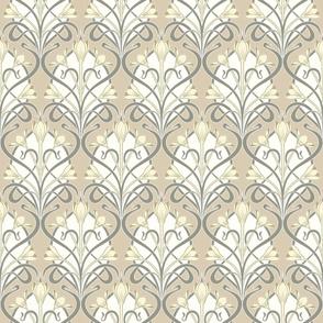 Crocus Art Nouveau_Neutral Colors_50Size