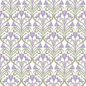 Crocus Art Nouveau_Lilac 50Size