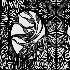 19_Original_Black/White_Full_Mirror_14x18