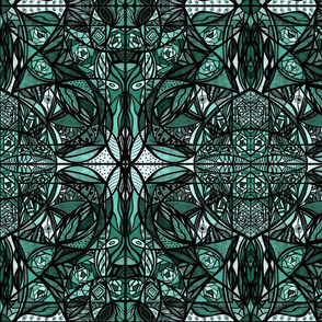 37_Teal_7x8_Small_Mirror