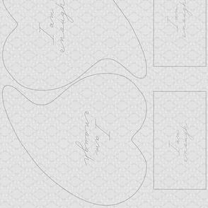 Heart Warmer Design - I am enough - 2h x2e GREY-01