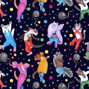 Disco Kitties